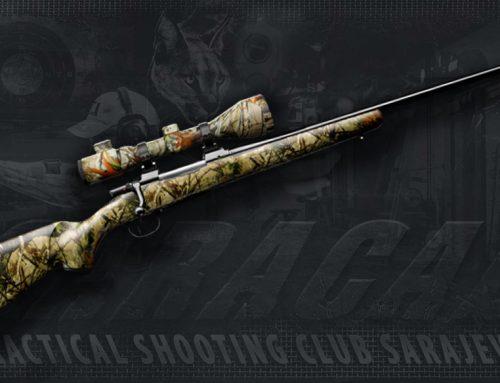 CZ 550 Predator 30-06 Model Hunting Rifle